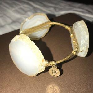 Bourbon and Boweties quarts bracelet